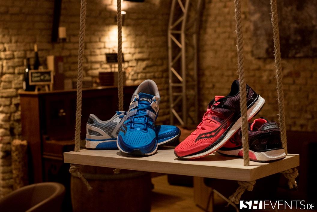 Produktveranstaltung Schuhe