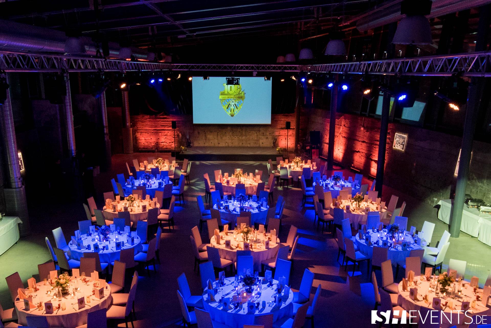 Tische für Gäste