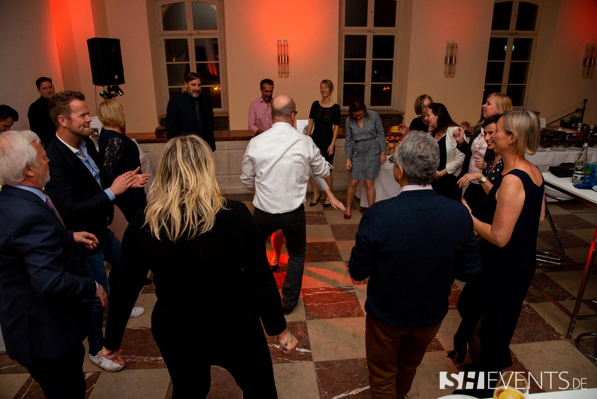 Tanzen auf dem Schlossevent