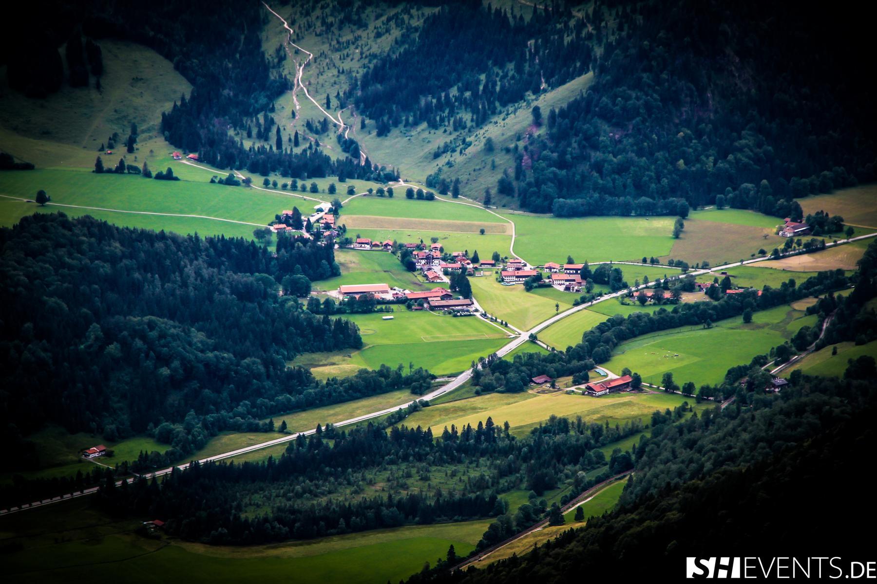 Berg und Bauernhausevent