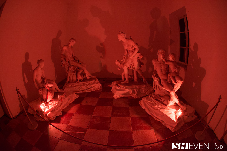 Eisernes Haus Event Skulpturen