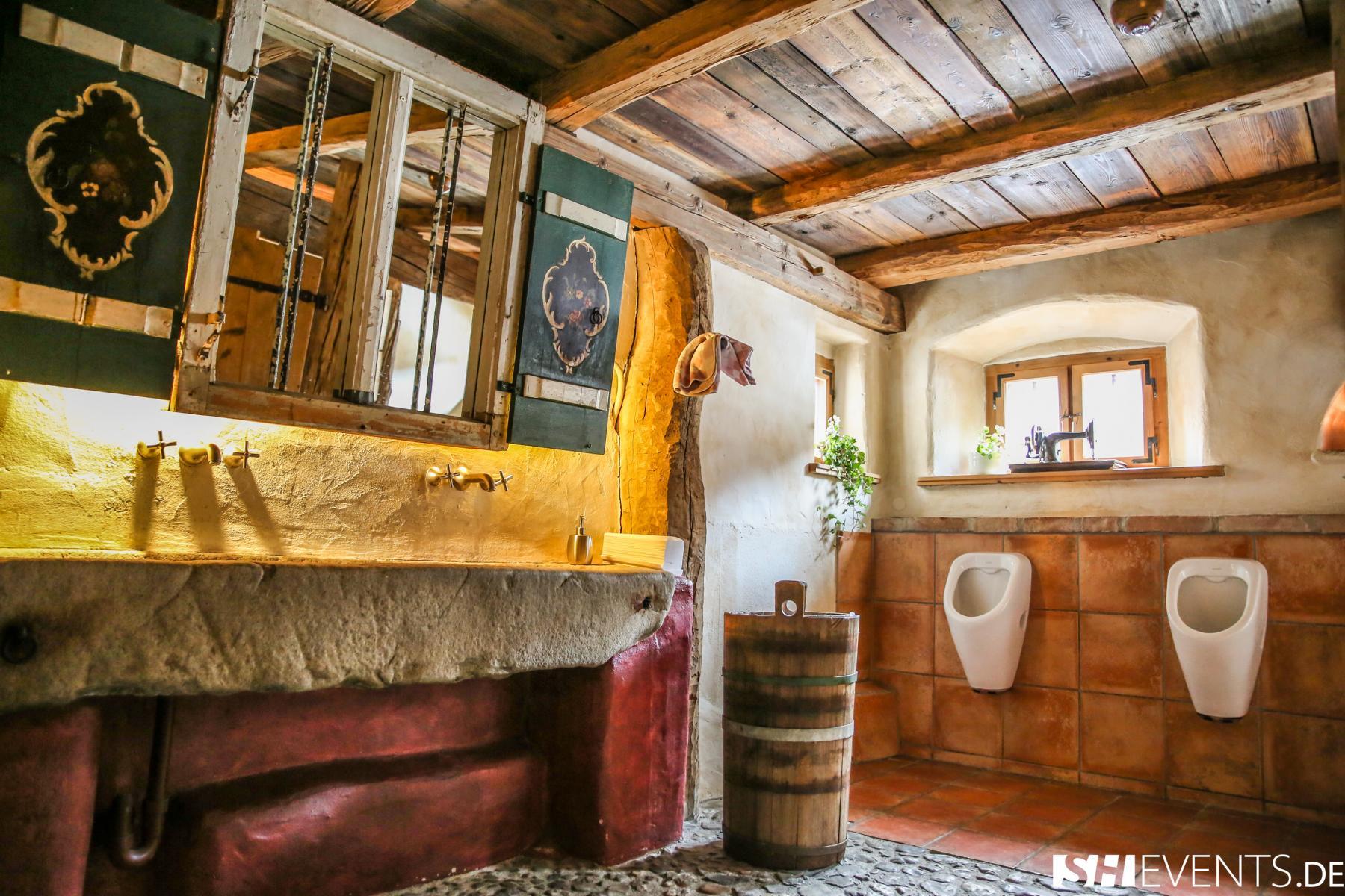 Herrentoilette Berg- und Bauernhaus
