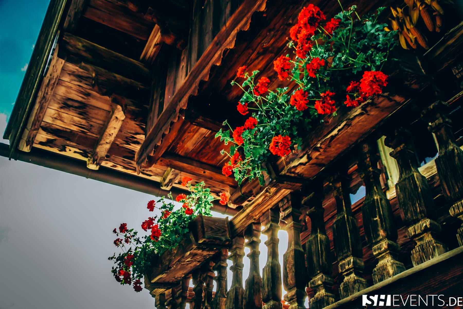 Berg- und Bauernhaus Balkonblumen
