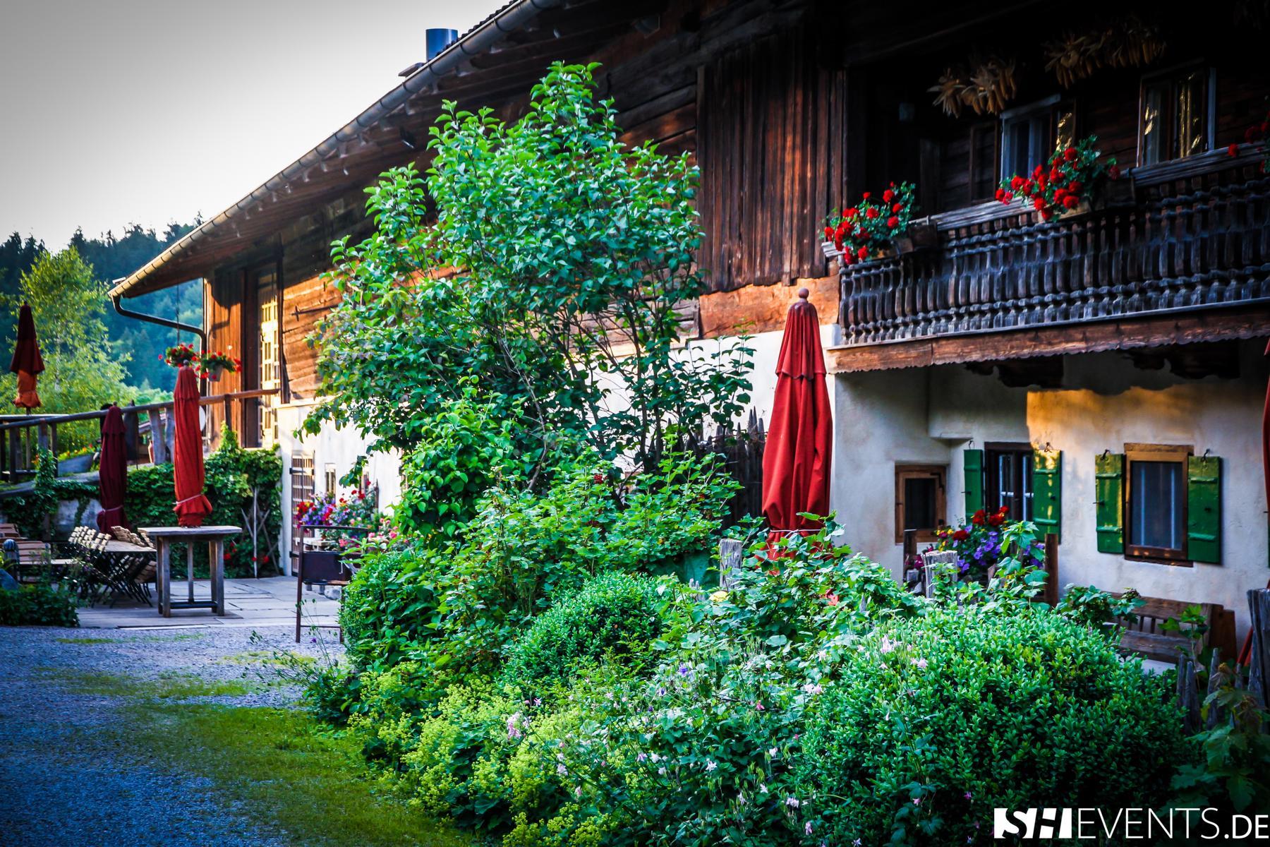 Berg- und Bauernhaus Außenansicht