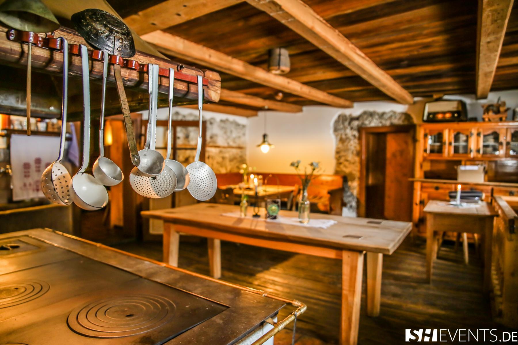 Küche im Berg- und Bauernhaus