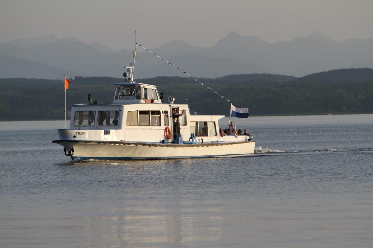 Boot auf Tegernsee