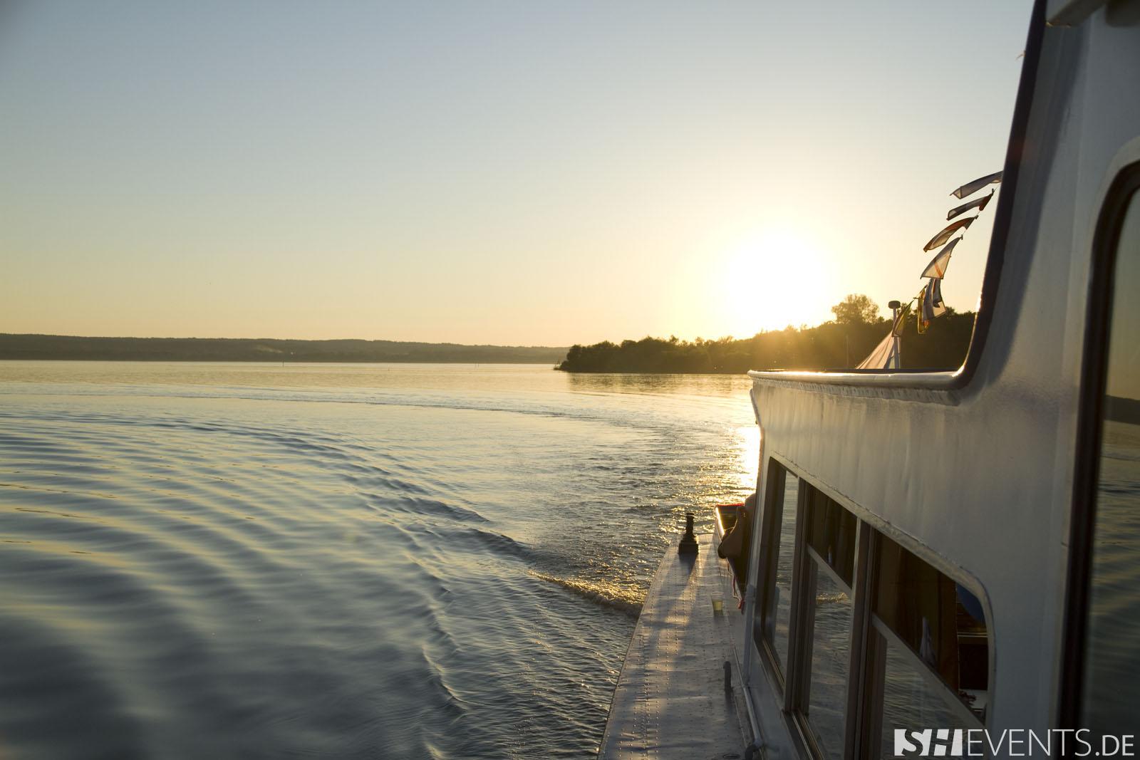 Boot mit Blick auf See