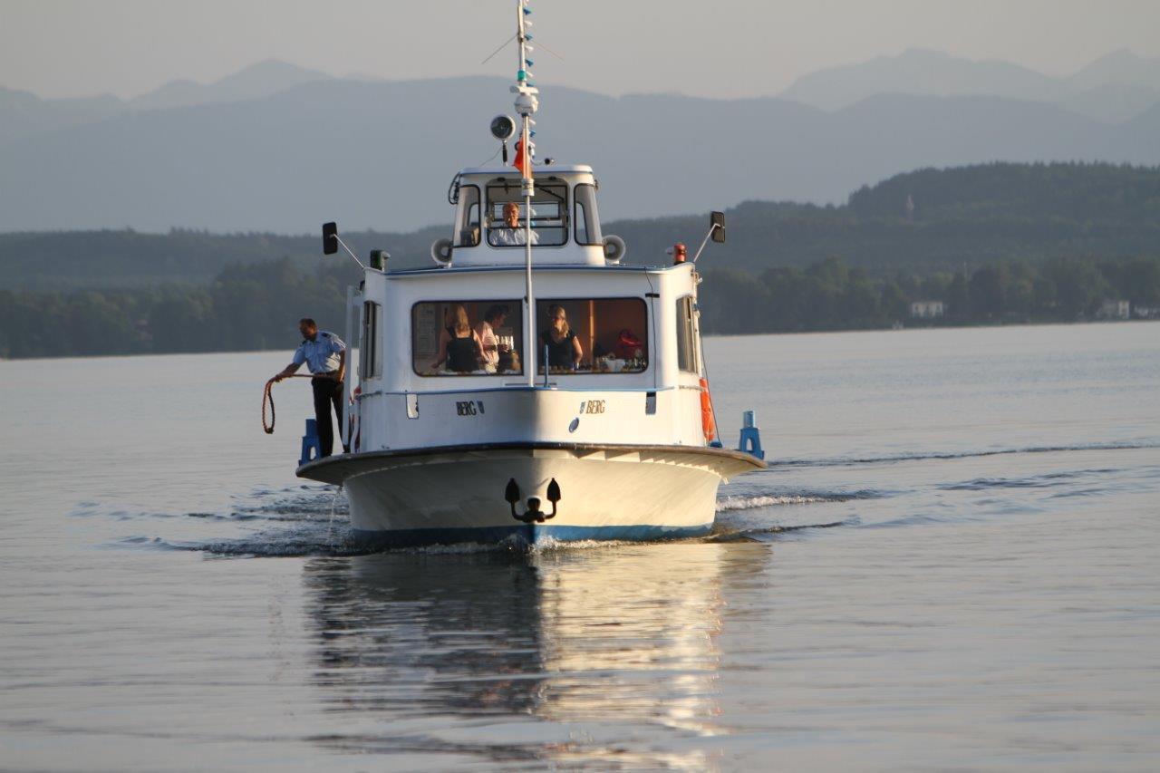 Boot von vorne