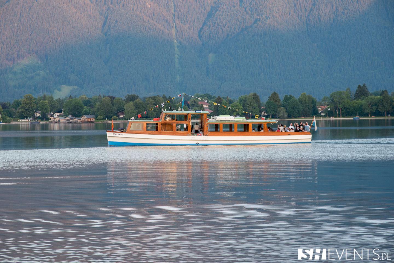 Boot auf dem Tegernsee