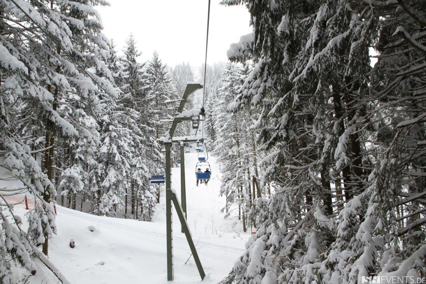 Lift im Schnee