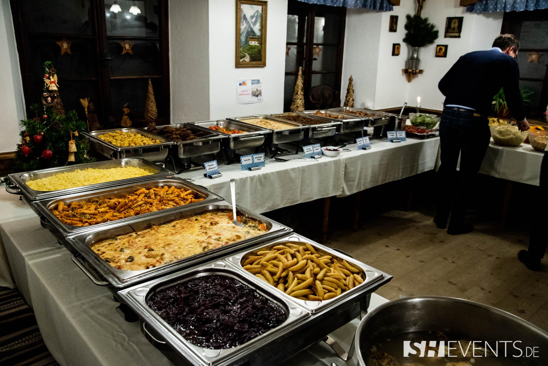 Hauptspeisenbuffet