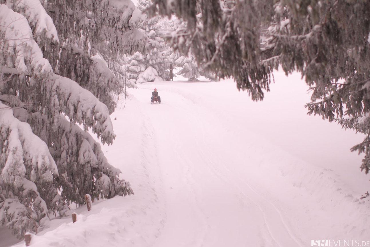 Winterrodeln