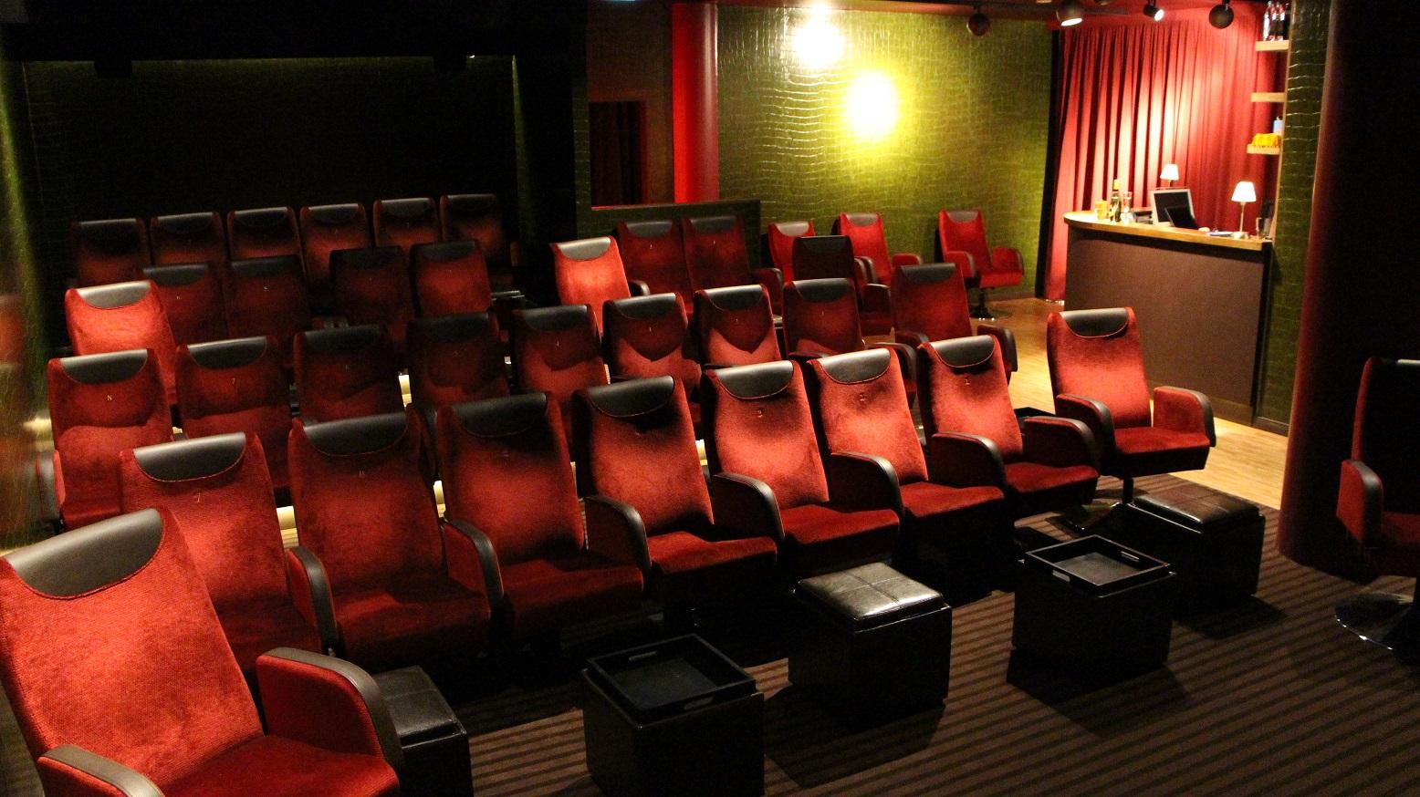Kinosaal von vorne