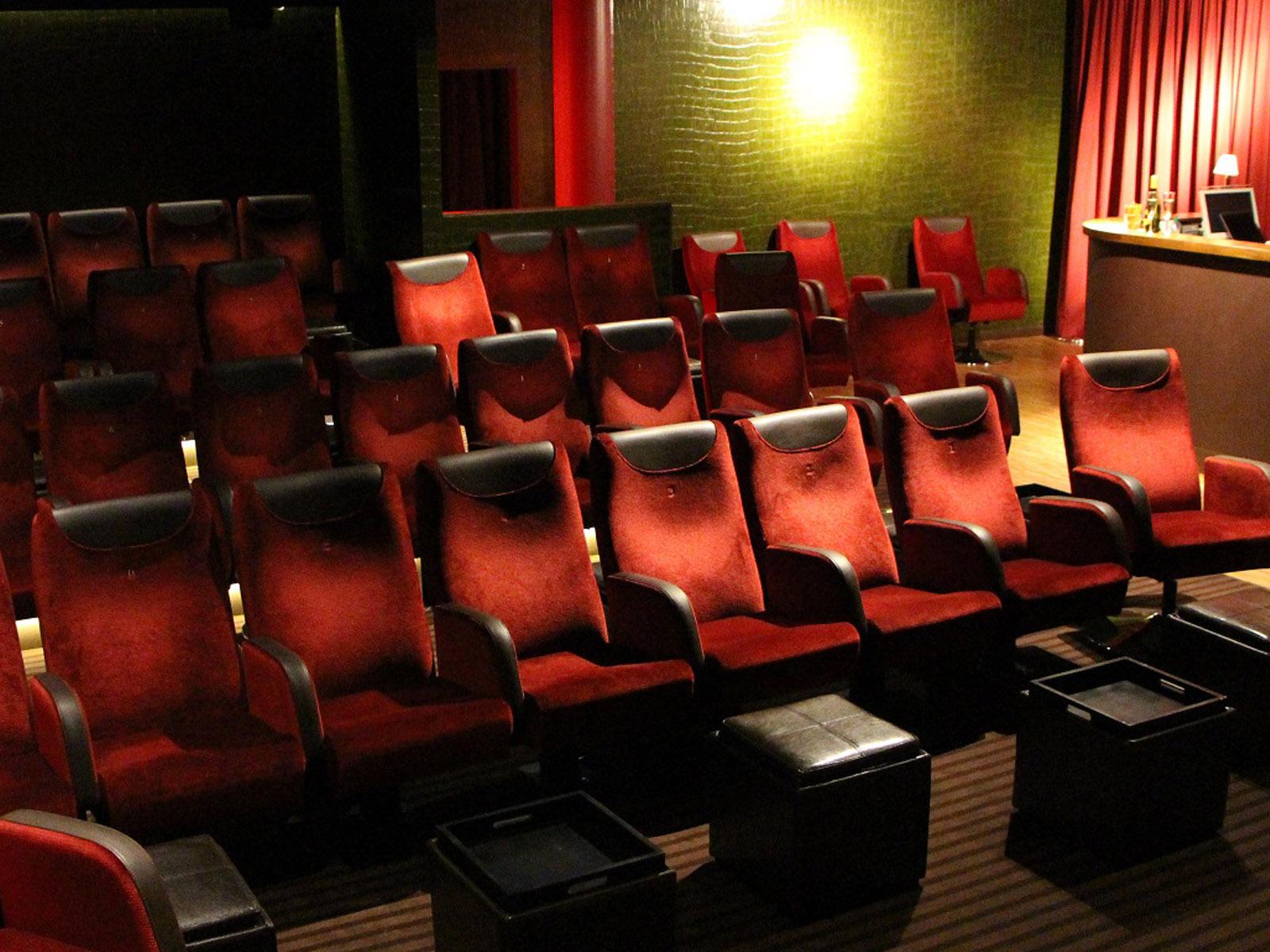 Aufnahme des Kinosaals