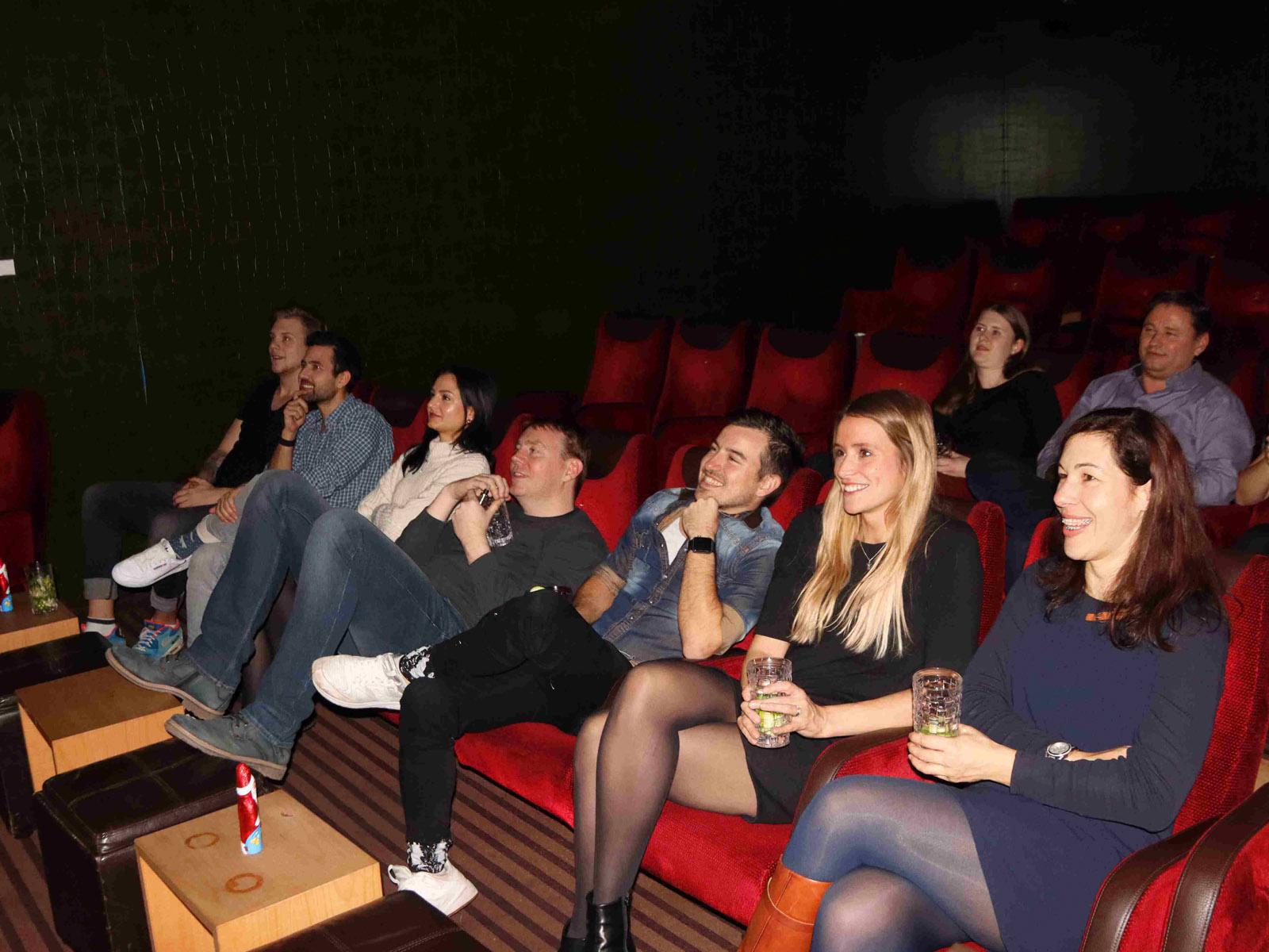 Aufnahme Kinosaal von vorne