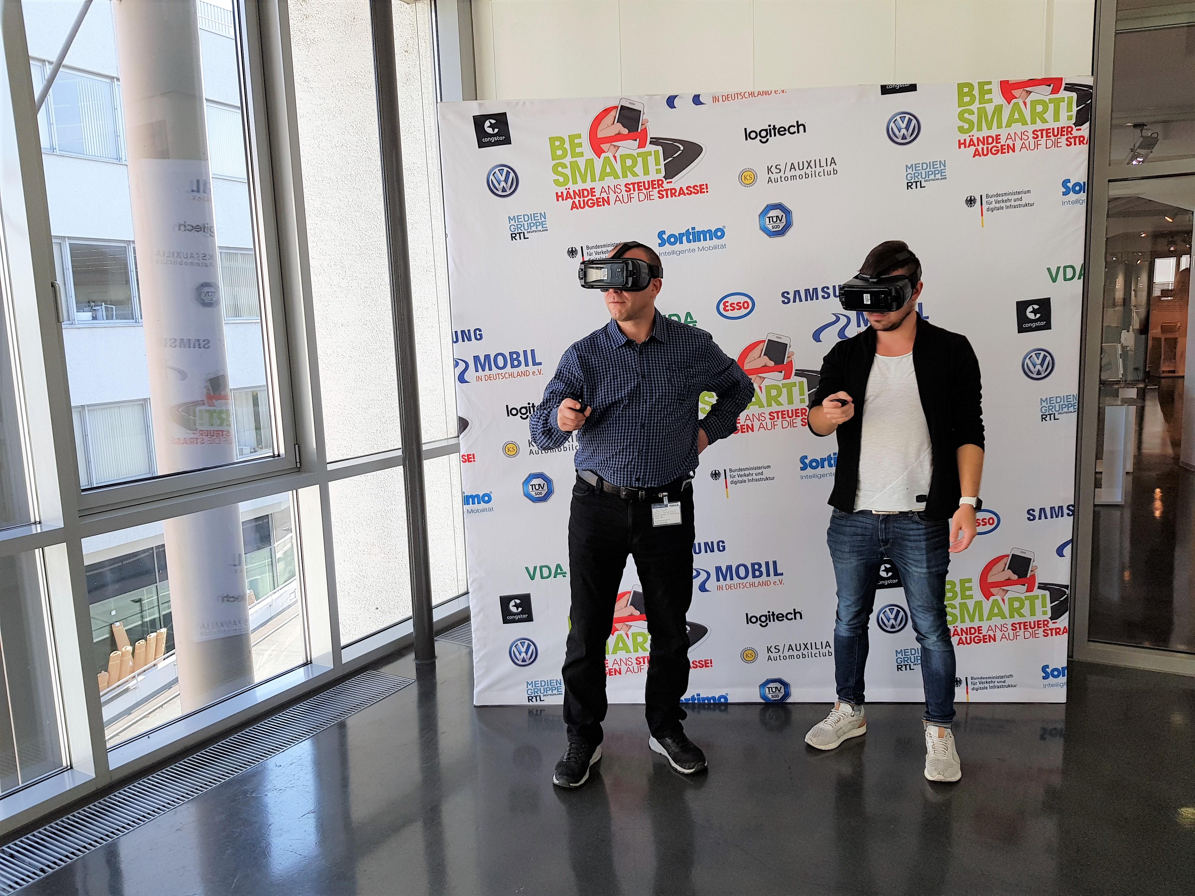 VR Brillen Be Smart