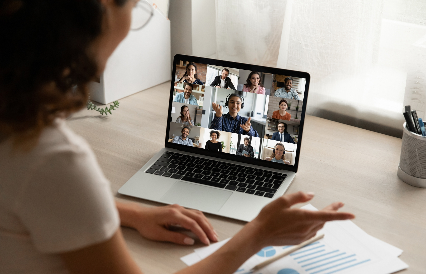 Virtuelles Kick-Off Meeting Präsetation