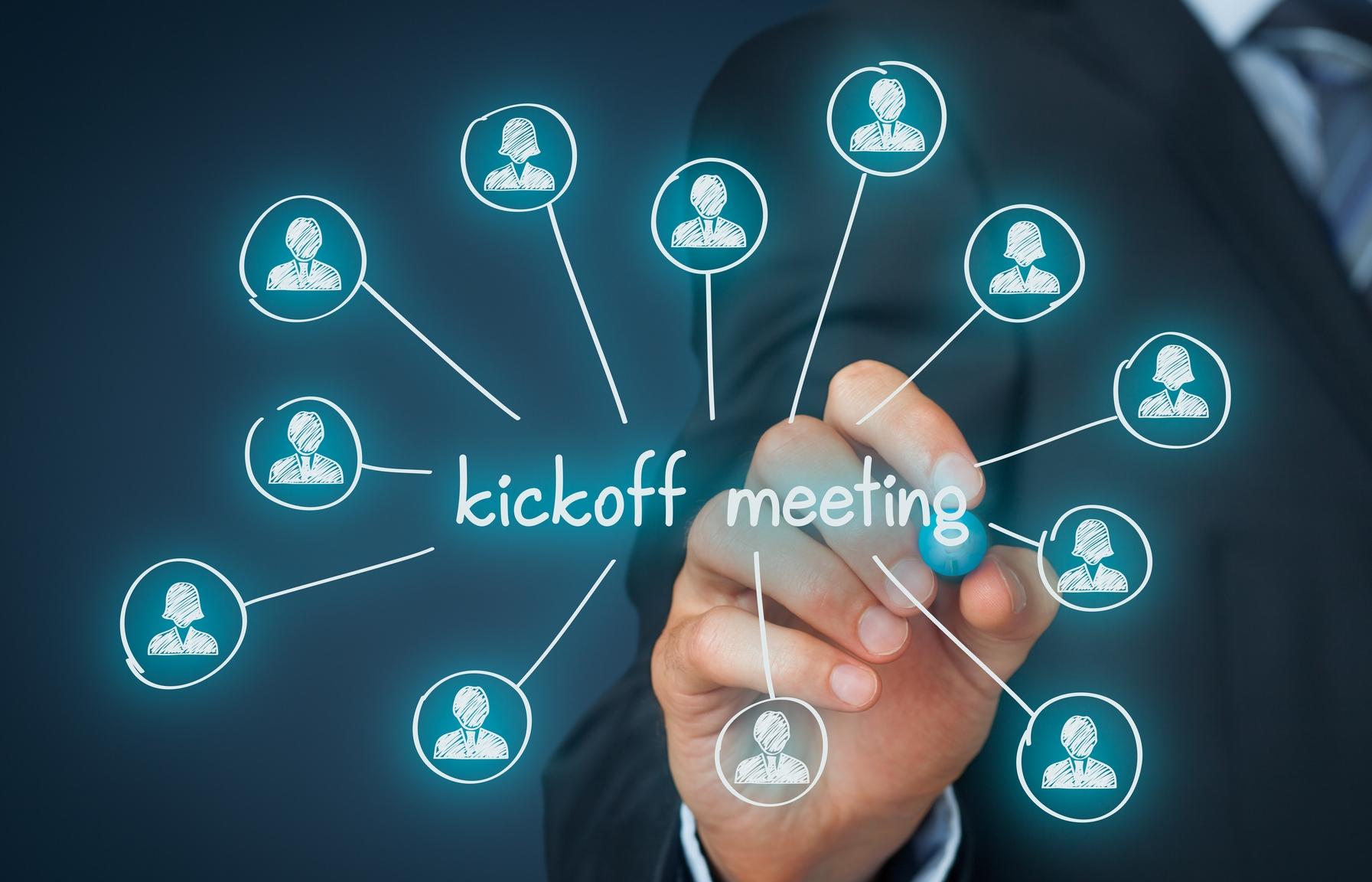 Virtuelles Kick-Off Meeting