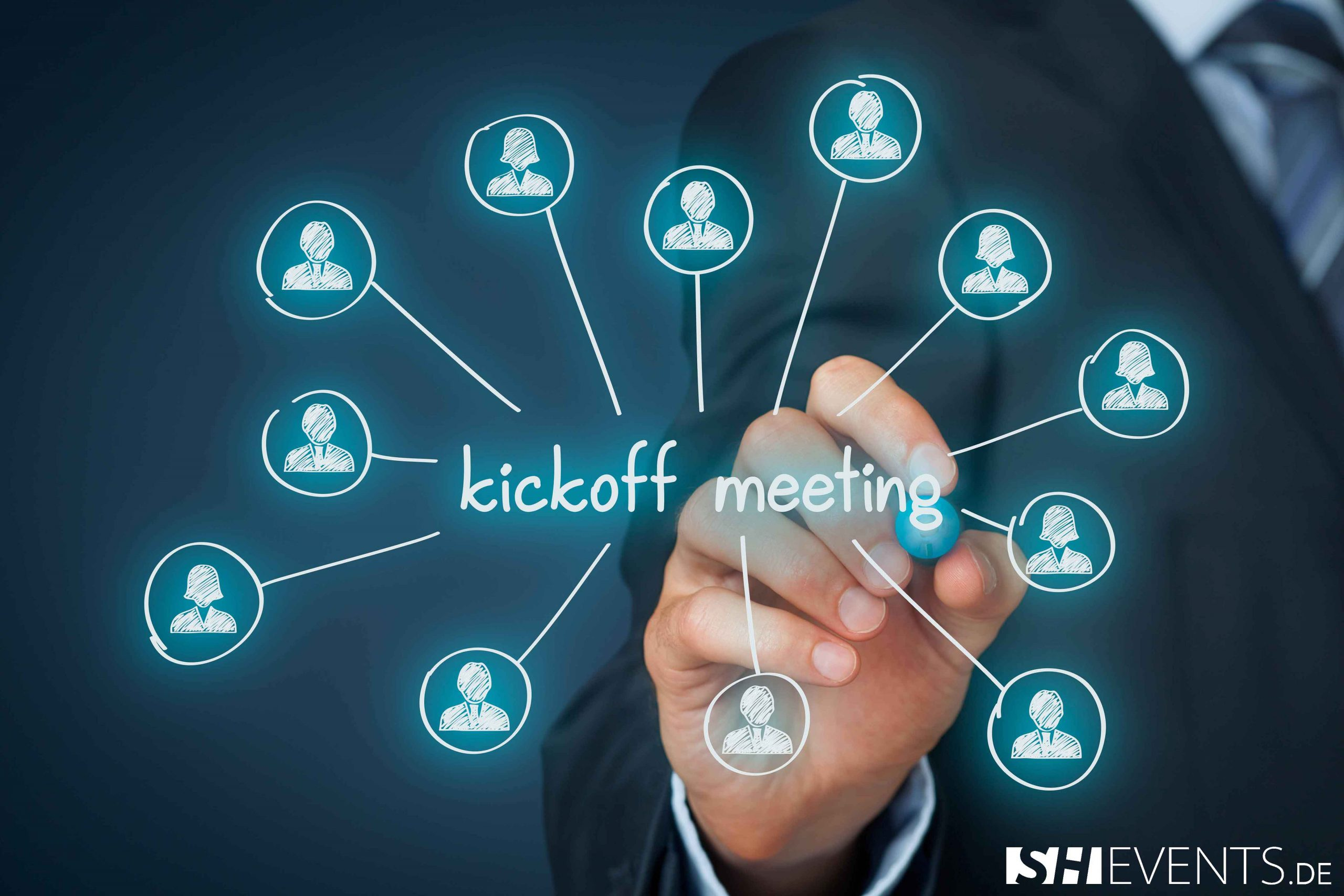 Virtuelles Kick-Off-Meeting